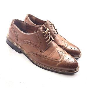 Original Penguin Welton Oxford Shoes Brown Leather